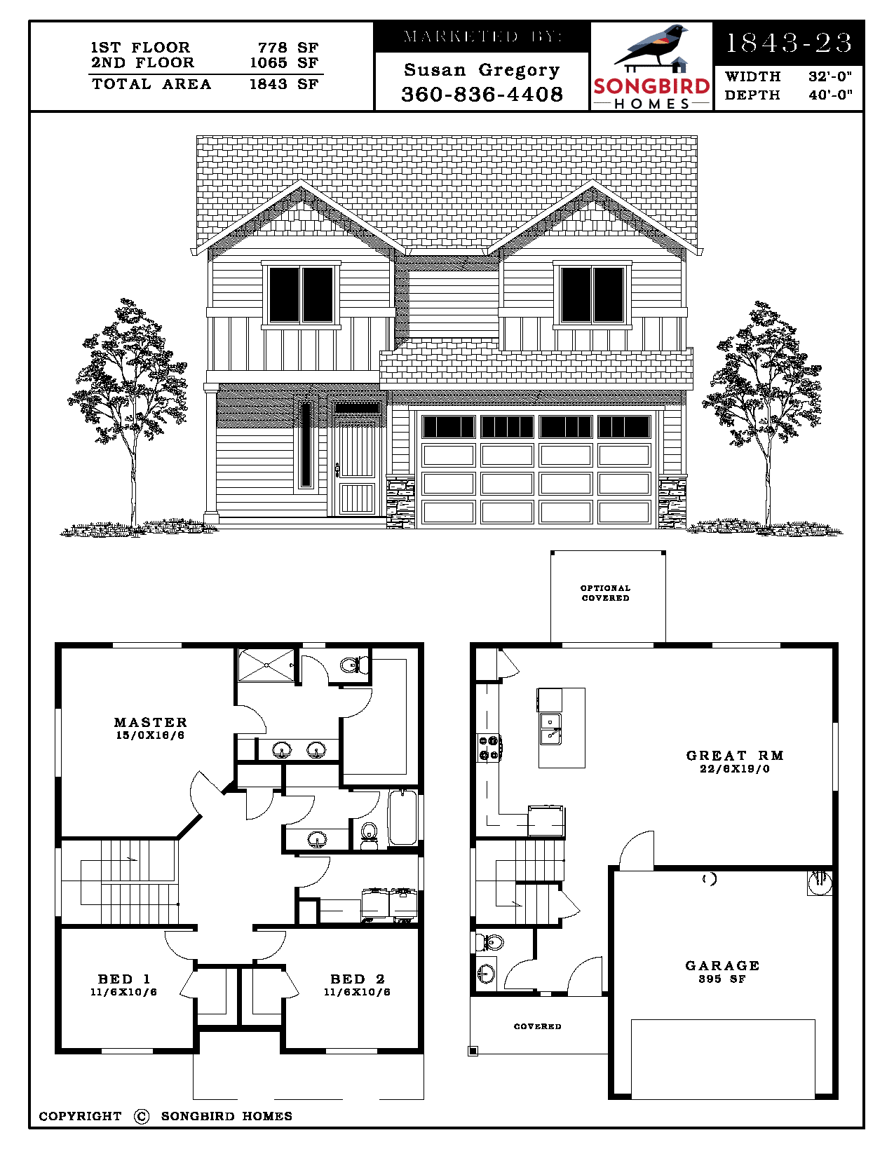 Wren Village 1843