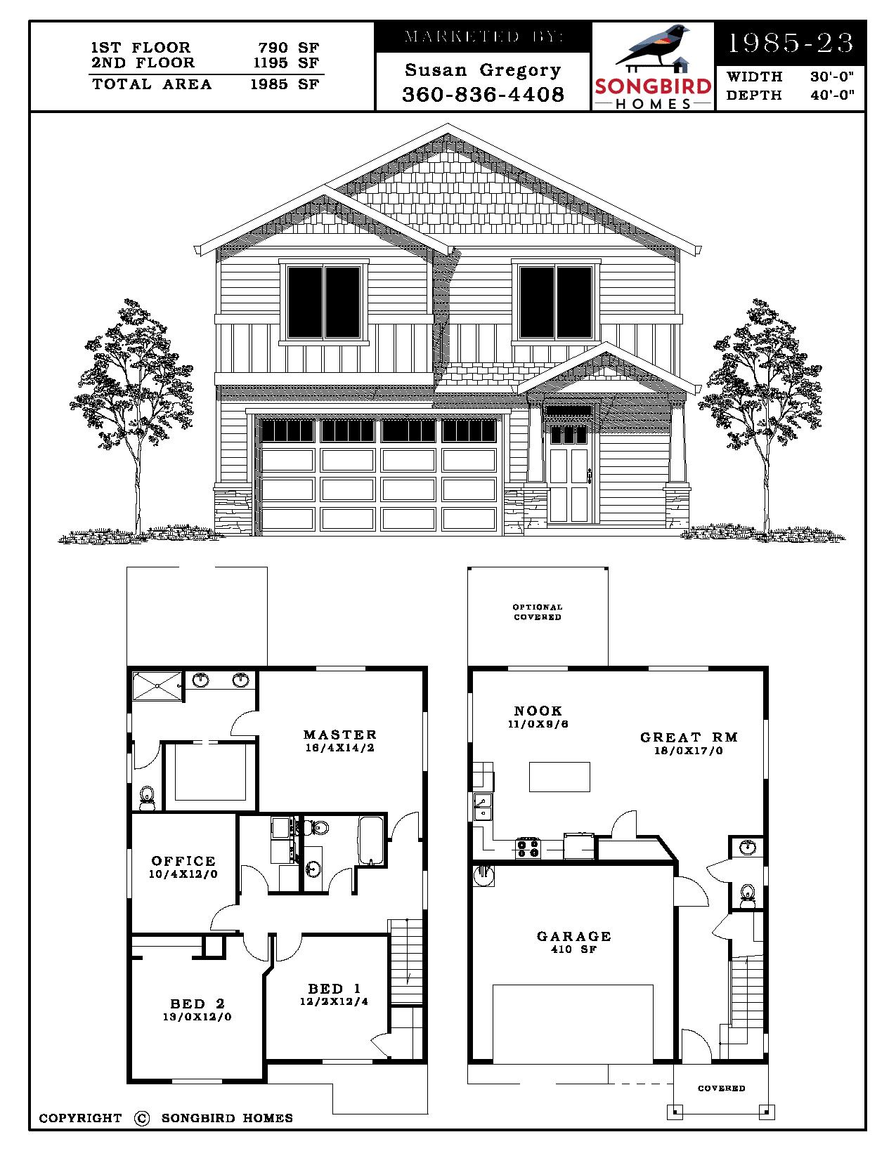 Wren Village 1985